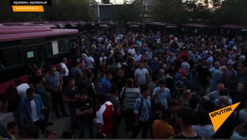 Ескалація війни в Нагірному Карабасі почалася 27 вересня / скріншот з відео