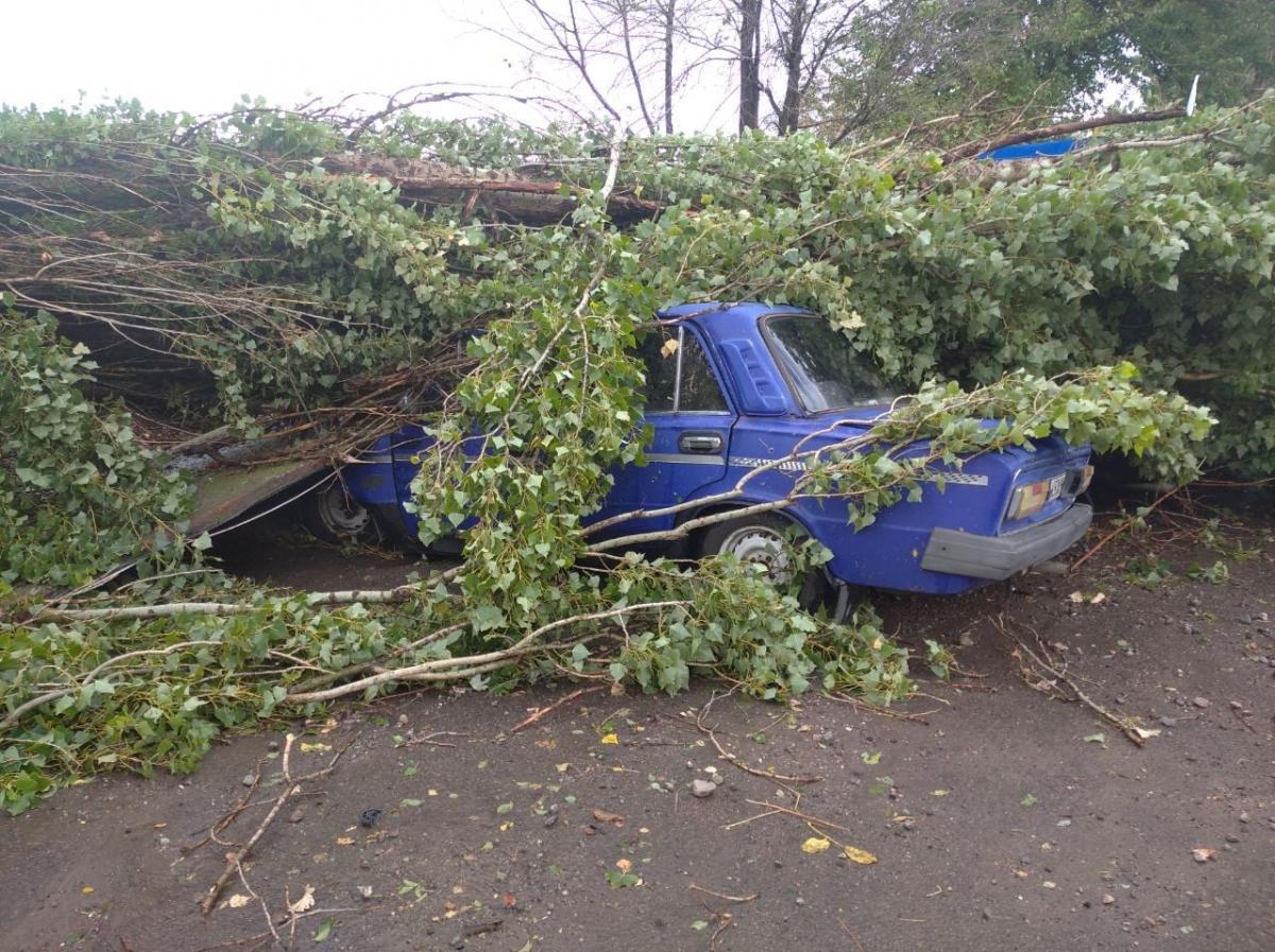 Ураган нанес поселку значительный ущерб / facebook.com/khersonpolice.official