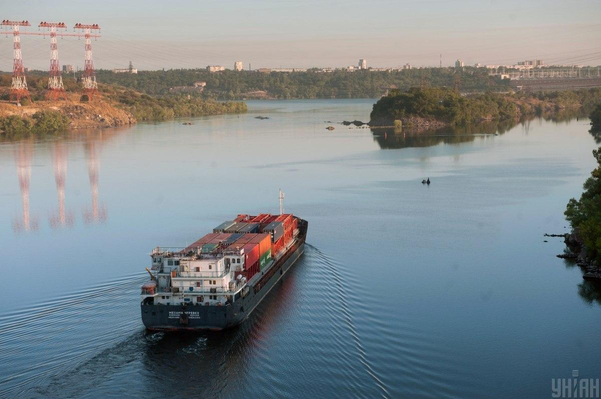 Зеленський відзначив, що потенціал річкових перевезень в Україні практично не реалізований / фото УНІАН, Олександр Прилепа