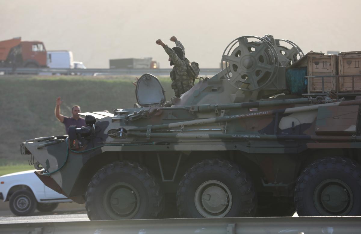 Война в Карабахе - В Азербайджане конфликт в Нагорном Карабахе назвали