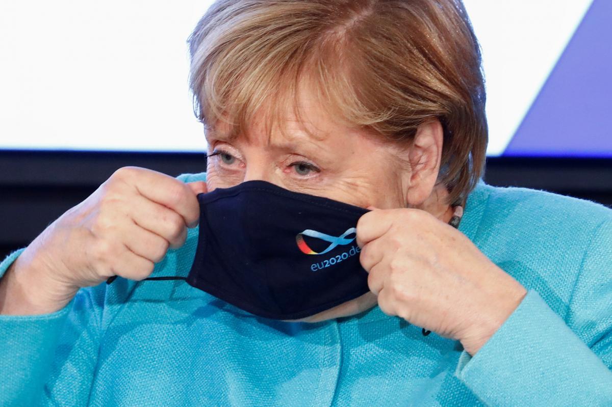 Ангела Меркель обеспокоена второй волной коронавируса / фото REUTERS