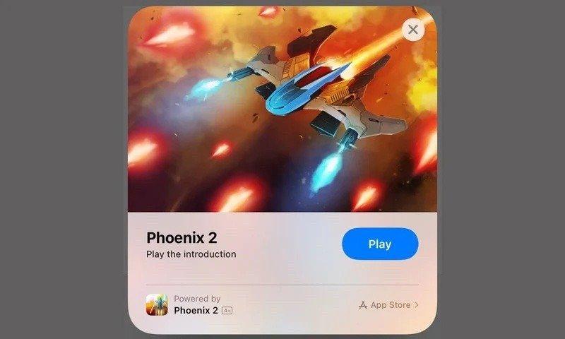 Гра для iOS Phoenix 2 / скріншот