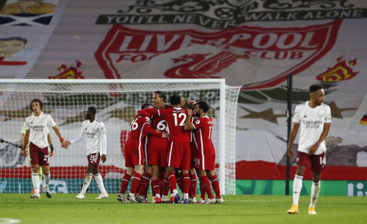 Ліверпуль здобув домашню перемогу / фото REUTERS