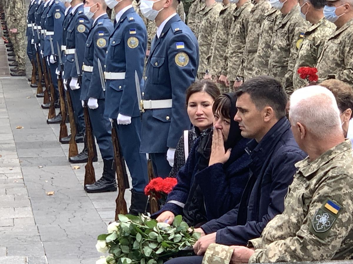 У Харкові прощаються із загиблим курсантом \ strana.ua