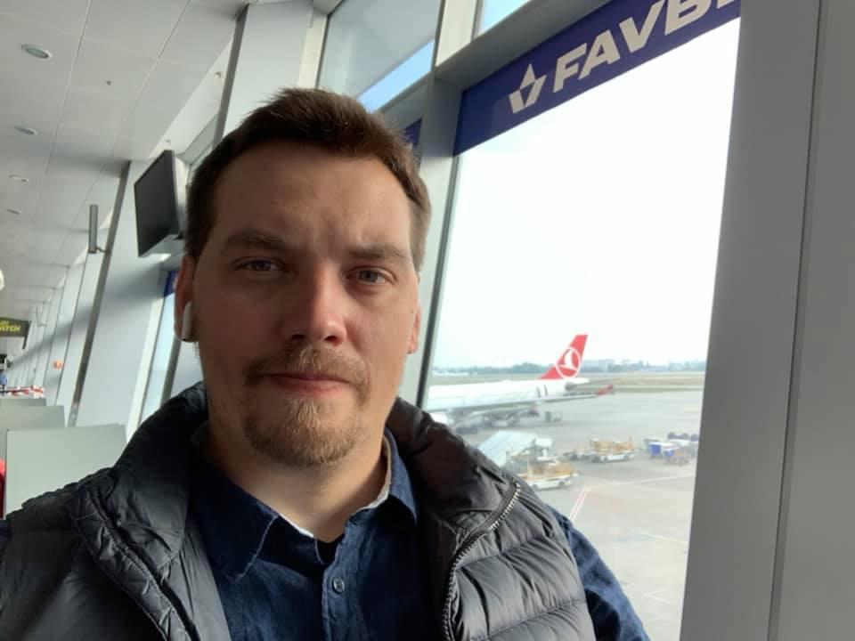 Алексей Гончарук перебрался в Америку / фото facebook.com/aleksey.goncharuk