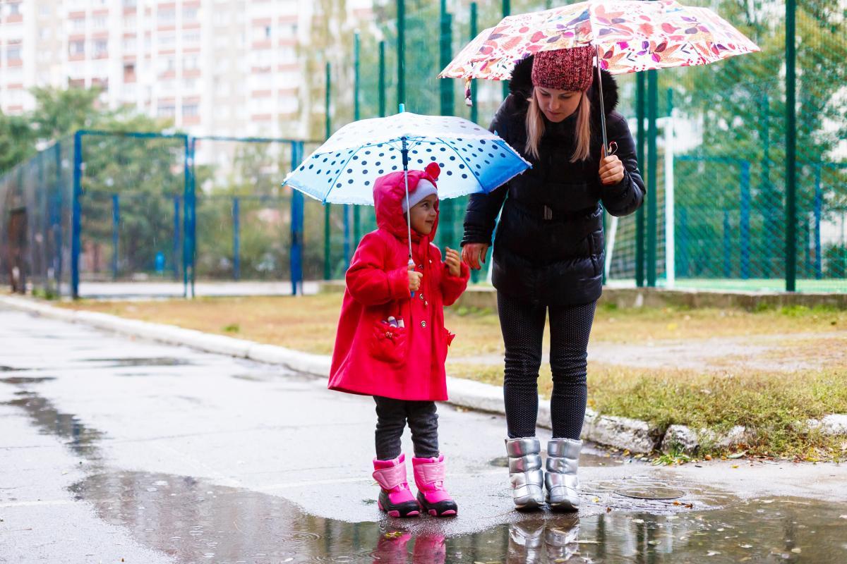 У суботу дощі пройдуть по всій країні / Фото ua.depositphotos.com