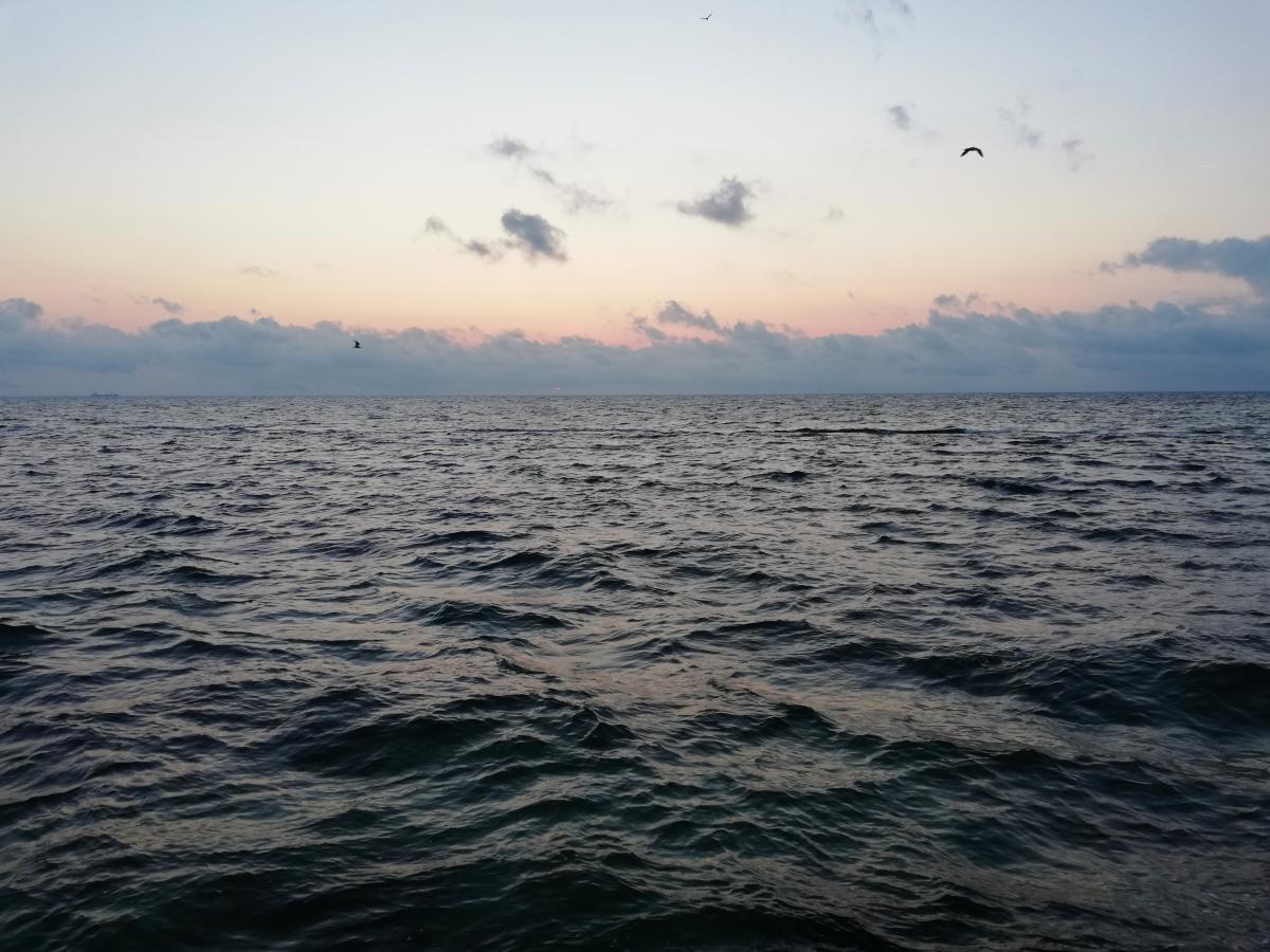 У Чорному морі затонув корабель / фото Марина Григоренко