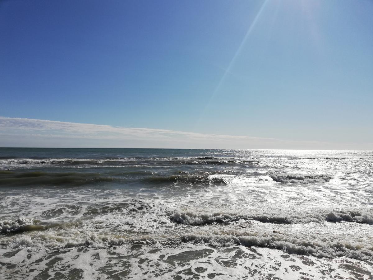 Азовское море уже прогрелось до + 20 градусов / фото Марина Григоренко