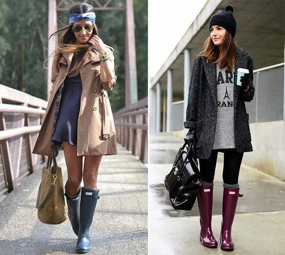 Гумові чоботи / фото pinterest.com