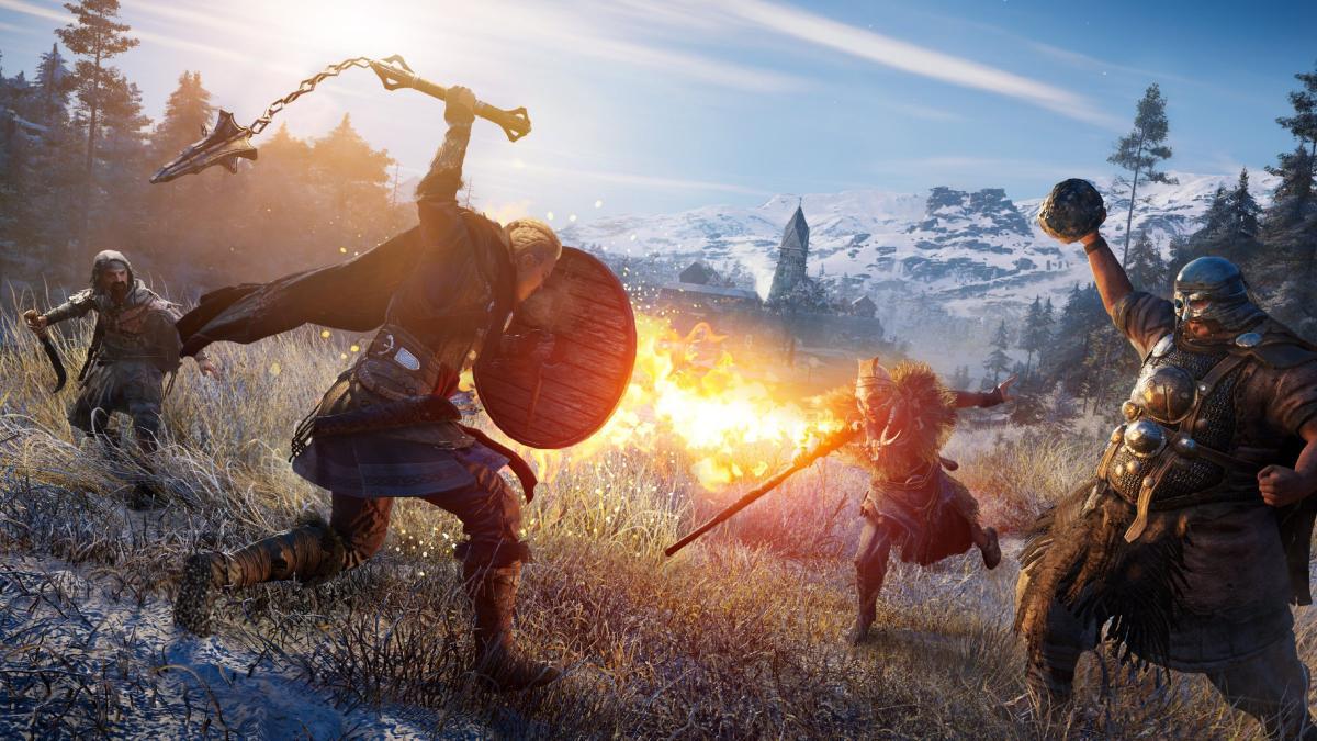 Assassin's Creed Valhalla получила скидки в EGS /фото Ubisoft
