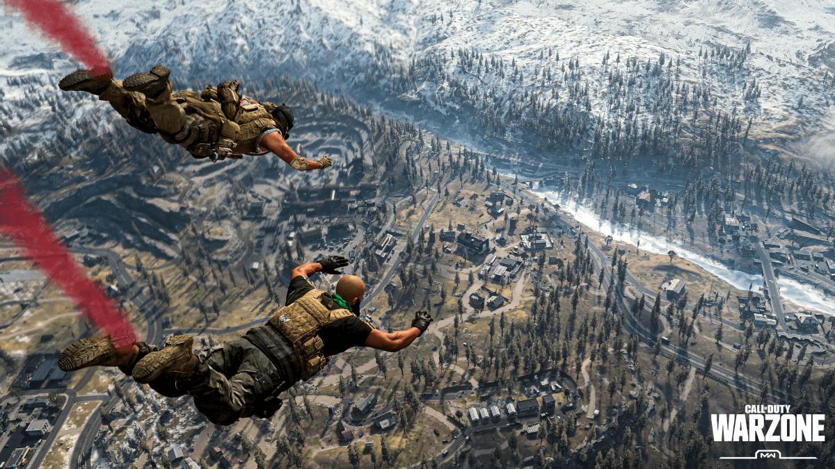 Аудиторія Call of Duty: Warzone перевищила позначку в 100 мільйонів користувачів / скріншот