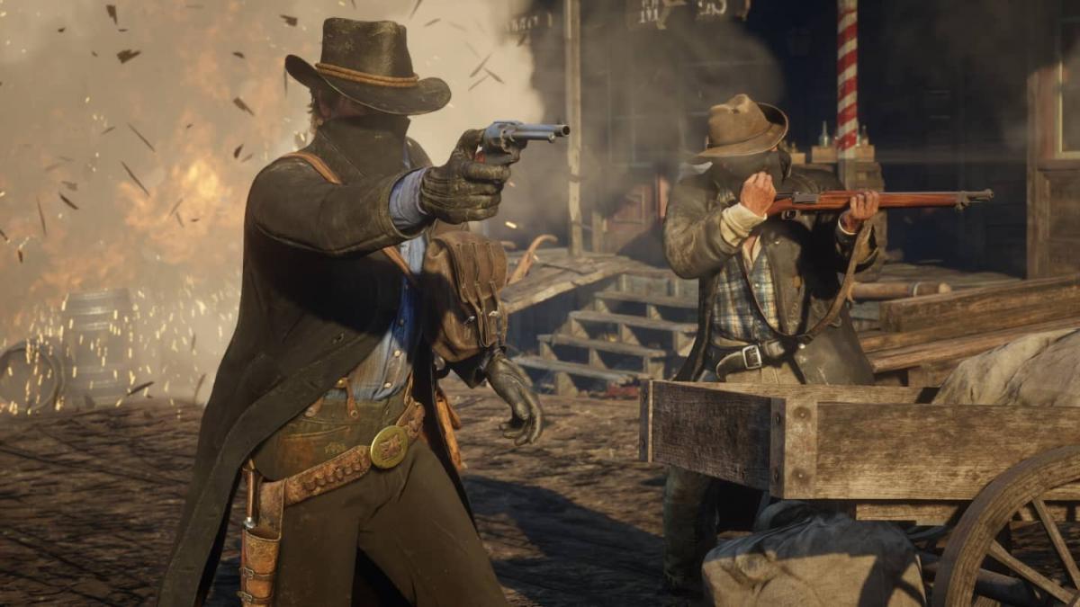 Багатокористувацький режим Red Dead Redemption 2 тепер буде відокремлений від основної гри / скріншот