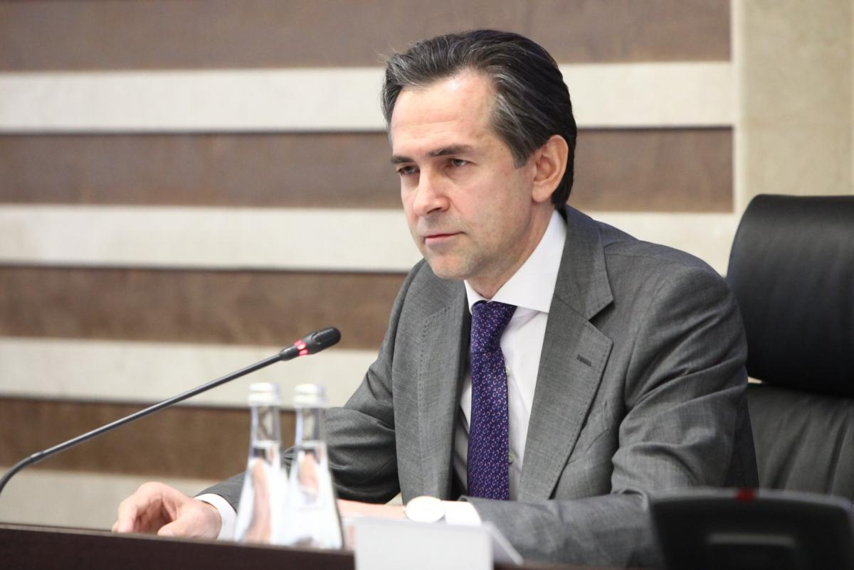 Голова Державної податкової служби Олексій Любченко / фото прес-служба ДПС