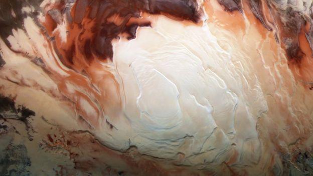 Вчені вважають, що там можуть зберегтися сліди ранніх форм життя / фото ESA / DLR / FU BERLIN / BILL DUNFORD