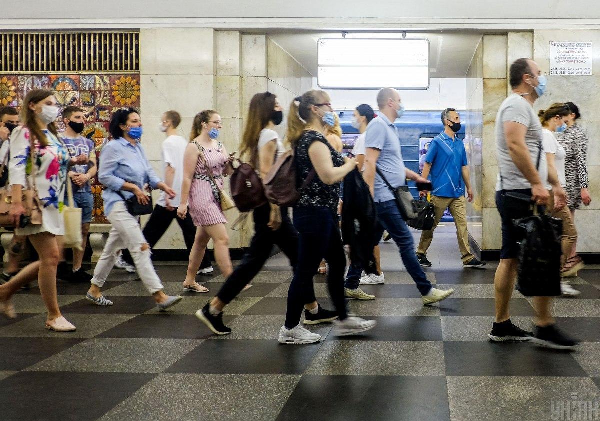 Диктор в киевском метро впервые закашлялся / фото УНИАН