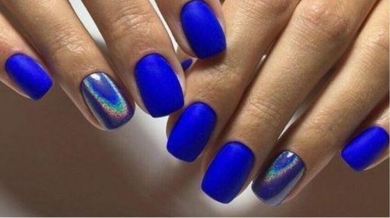 Синий цвет сейчас в моде / фото pinterest.com