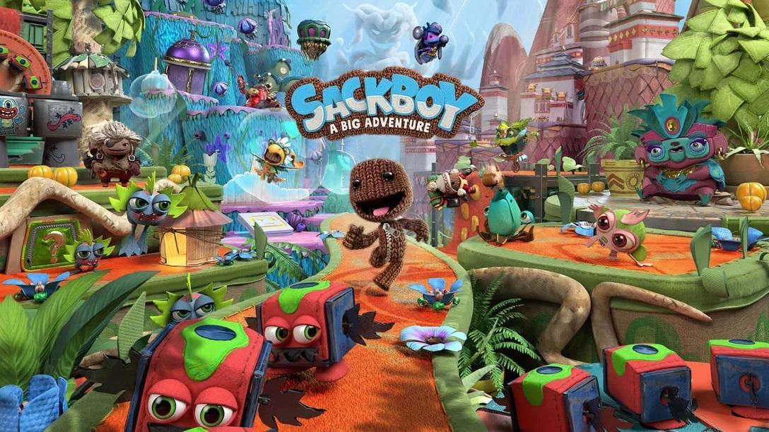 Sackboy: A Big Adventure вышла на PS4 и PS5 /фото blog.playstation.com