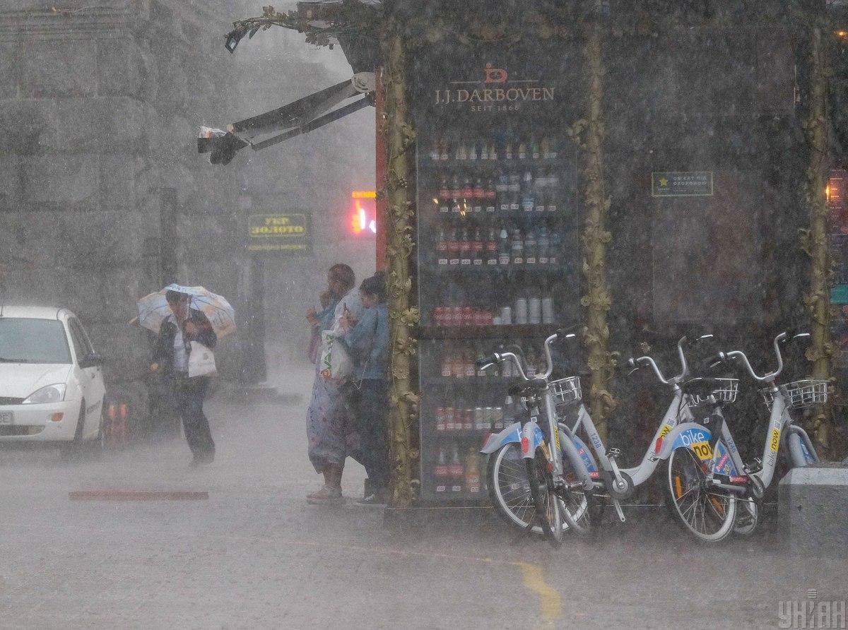 В Киеве ожидается проливной дождь / фото УНИАН