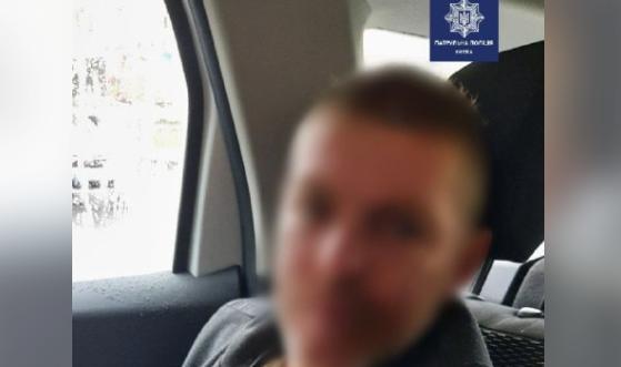 Зловмисник вдарив жінку в живіт / Патрульна поліція Києва