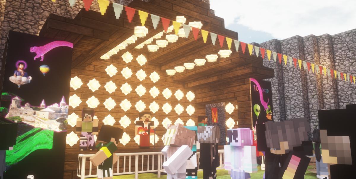 Сцена онлайн-фестиваля Respublika / скриншот