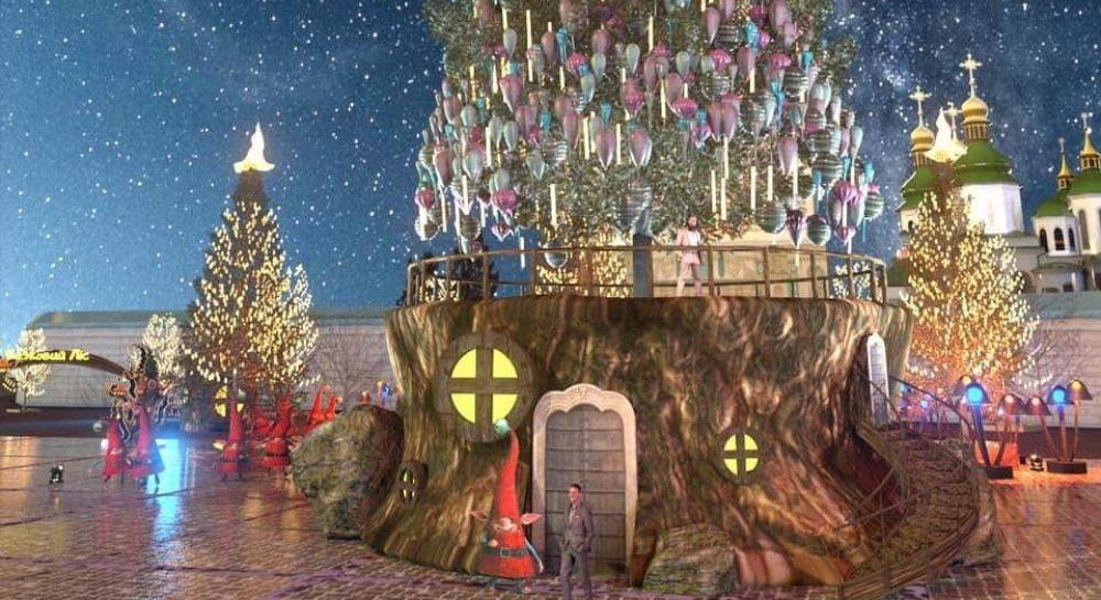 Новый год-2021 - появилось фото проекта главной елки ...