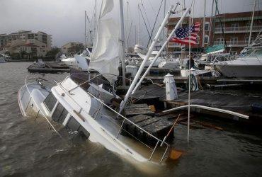 """Ураган """"Салли"""" обрушился на юго-восточное побережье США (фоторепортаж, видео)"""