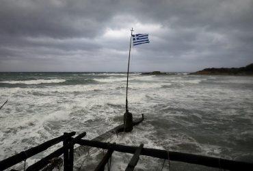 На Грецию обрушился мощный циклон, есть жертвы (фоторепортаж)
