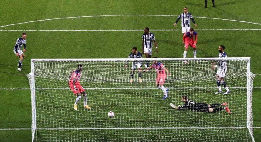 Челсі уникнув поразки в матчі АПЛ, поступаючись з різницею в три м'ячі (відео)