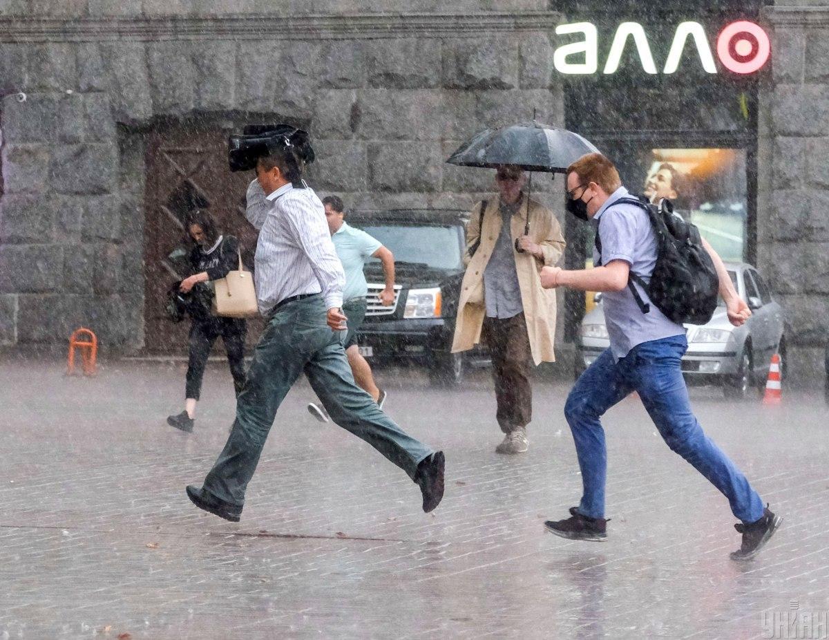 Сьогодні в Києві очікуються дощі / фото УНІАН