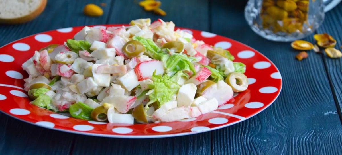 Как приготовить крабовый салат / фото 1000.menu