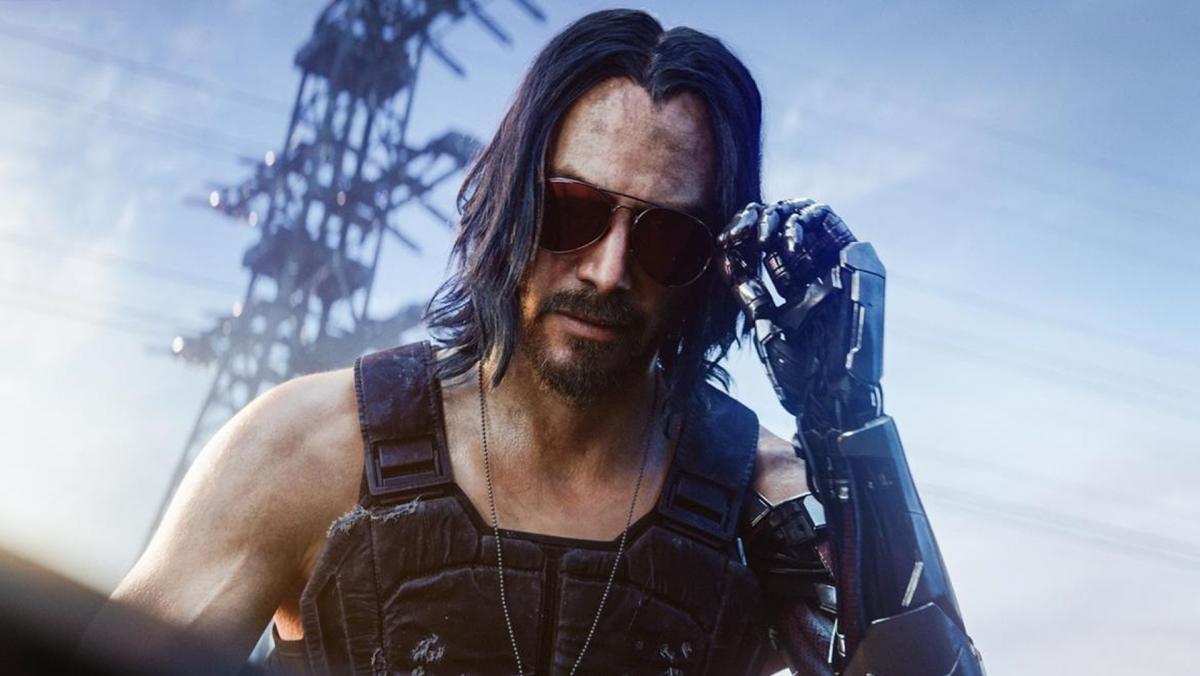 Кіану Рівз зіграв одного з персонажів в Cyberpunk 2077 / скріншот з трейлера