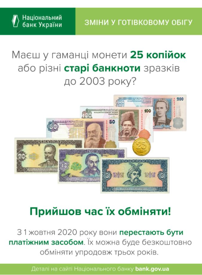 Какие монеты и банкноты выведут из обращения? / фото НБУ