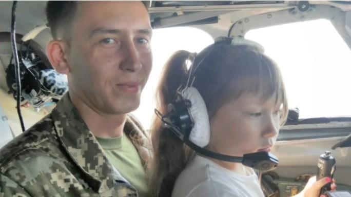 Алексей Остапенко с дочерью / Facebook Алексея Остапенко