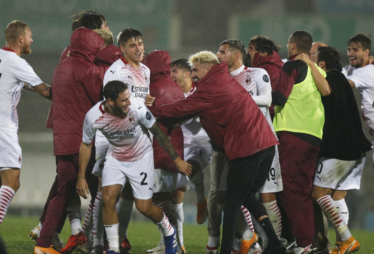 Игроки Милана / фото REUTERS