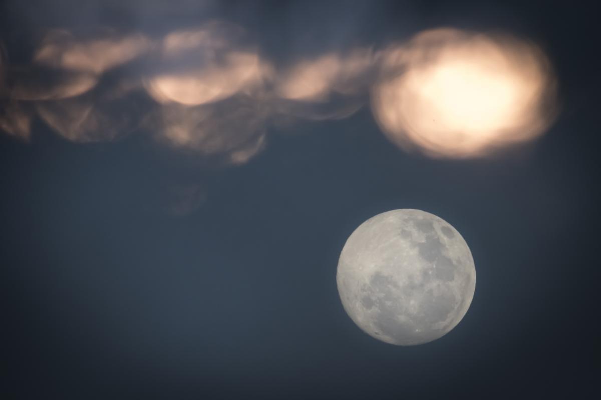 Полнолуние наступит 28 января / фото ua.depositphotos.com