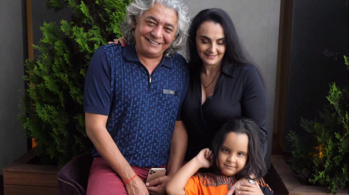 Леа Домини живет с новым мужем и сыном