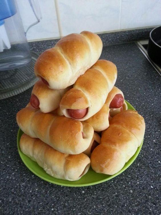 Сосиски в тесте рецепт / фото pinterest.com