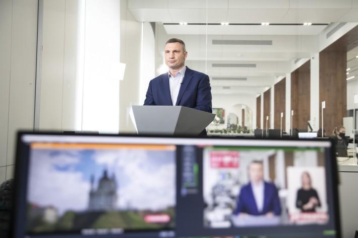 Мэр Кличко советует церковникам уходить в онлайн / фото kiev.klichko.org