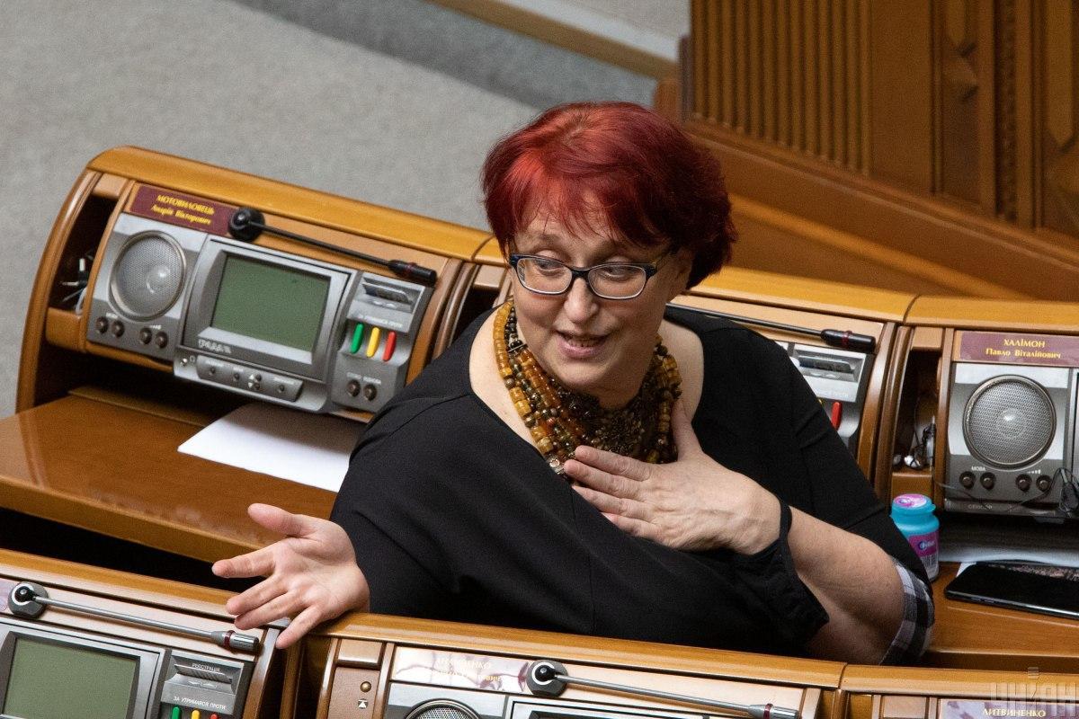 Третьякова не вперше потрапляє у скандал через свої висловлювання / Фото УНІАН, Олександр Кузьмін