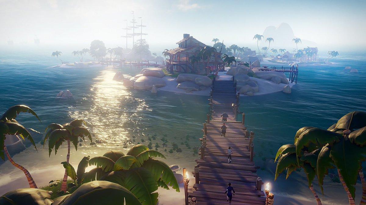Sea of Thieves превратилась в хорошую игру, но на релизе все было плохо / скриншот