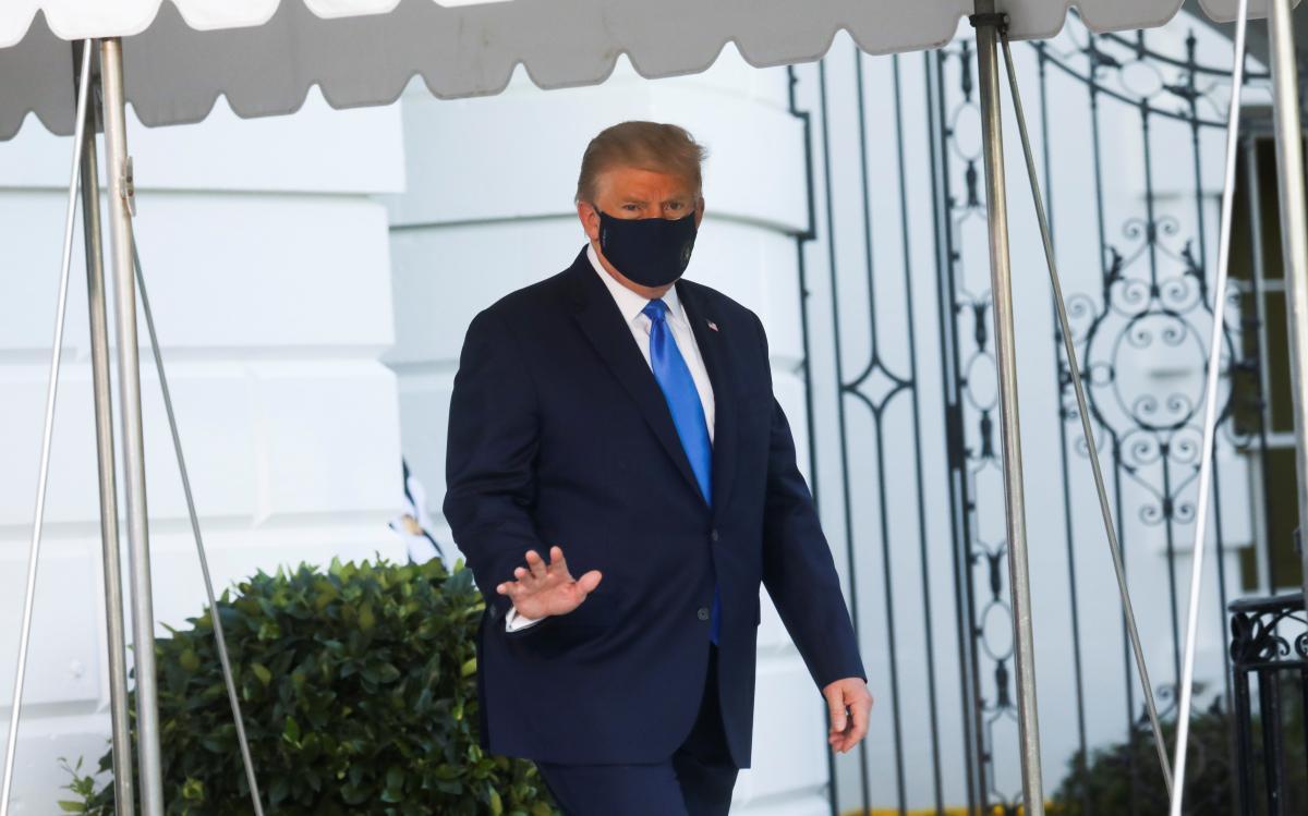 В Белом доме говорят, что Трамп здоров / REUTERS