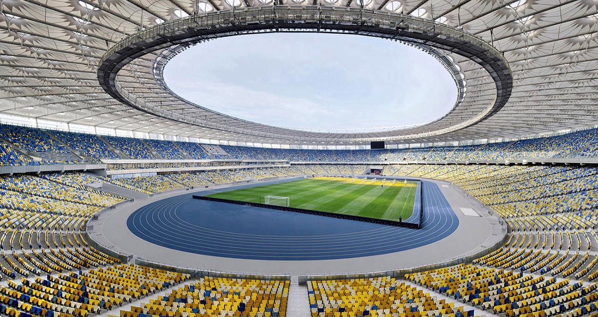 На Олимпийском откроют 30% трибун / фото УАФ