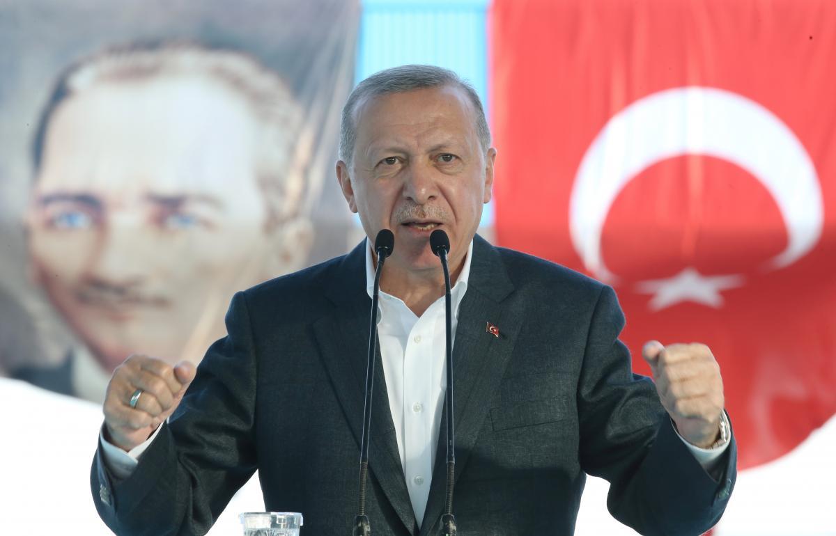 Эрдоган высказался за мирное урегулирование / фото REUTERS