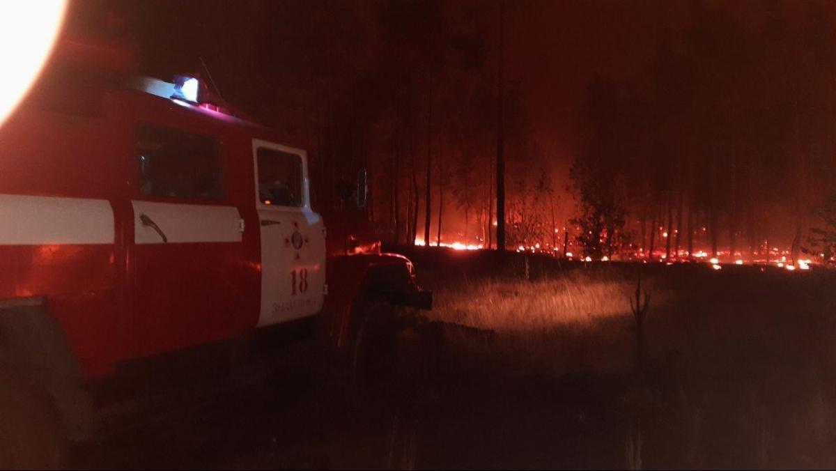 На Луганщині продовжується боротьба зі страшними пожежами / ДСНС
