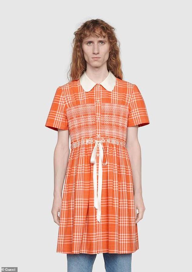 Платье для мужчин / gucci.com