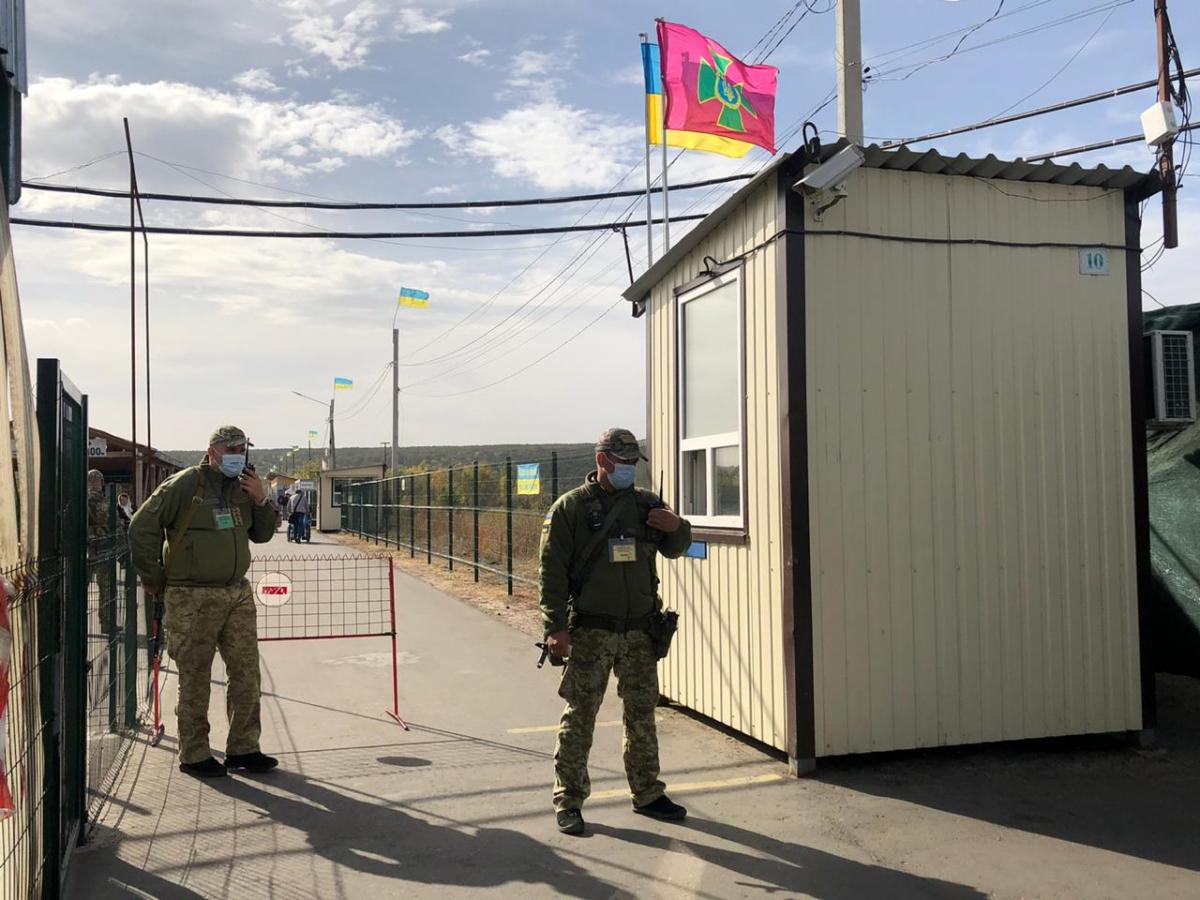 Stanytsia Luhanska checkpoint resumes work / Photo from dpsu.gov.ua