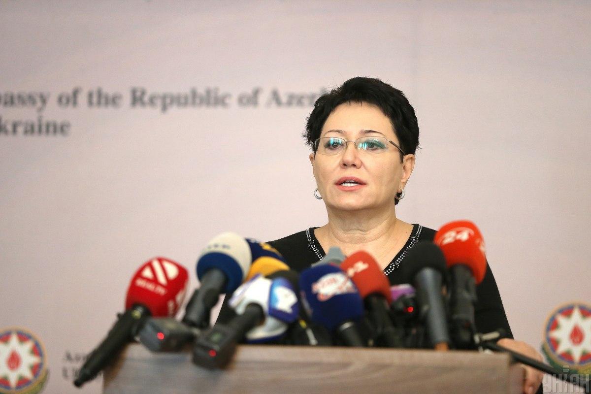 Посол Азербайджанской Республики в Украине Эльмира Ахундова / фото УНИАН, Вячеслав Ратинский