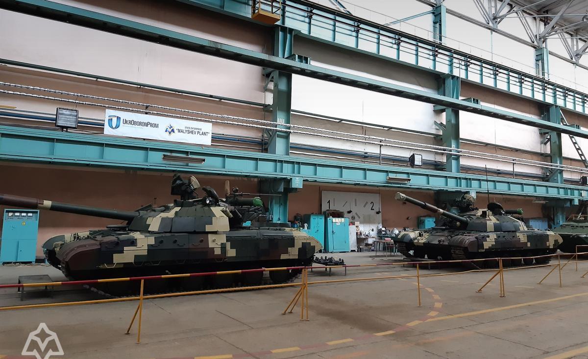 """Отремонтирована партия """"Булатов"""" / фото ukroboronprom.com.ua"""