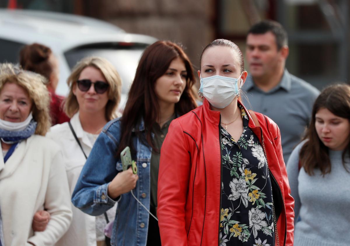 В Украине уже более 343 тысяч больных коронавирусом / REUTERS