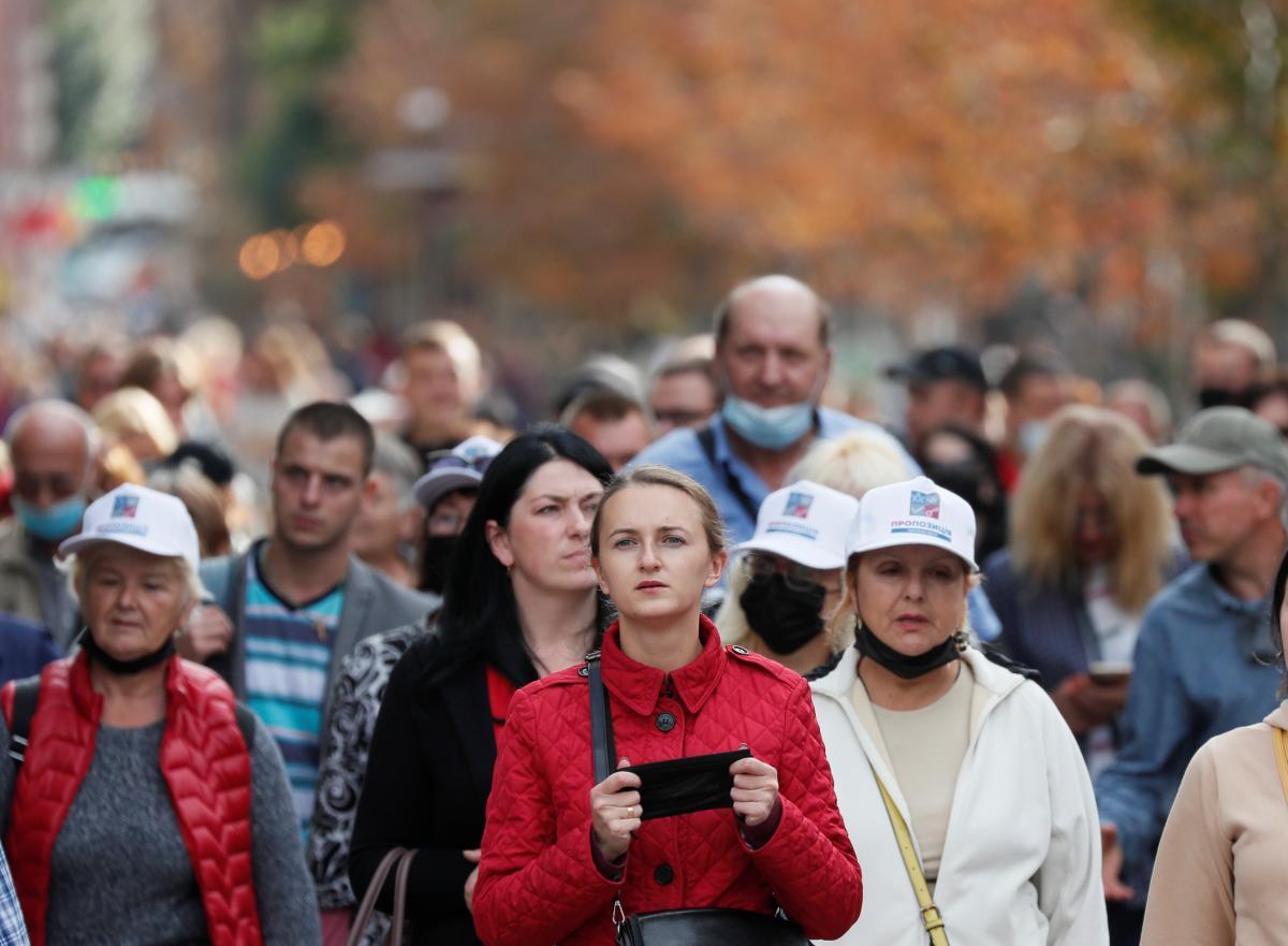 Сколько людей заразились коронавирусом в Киеве – данные за 6 ноября / фото REUTERS
